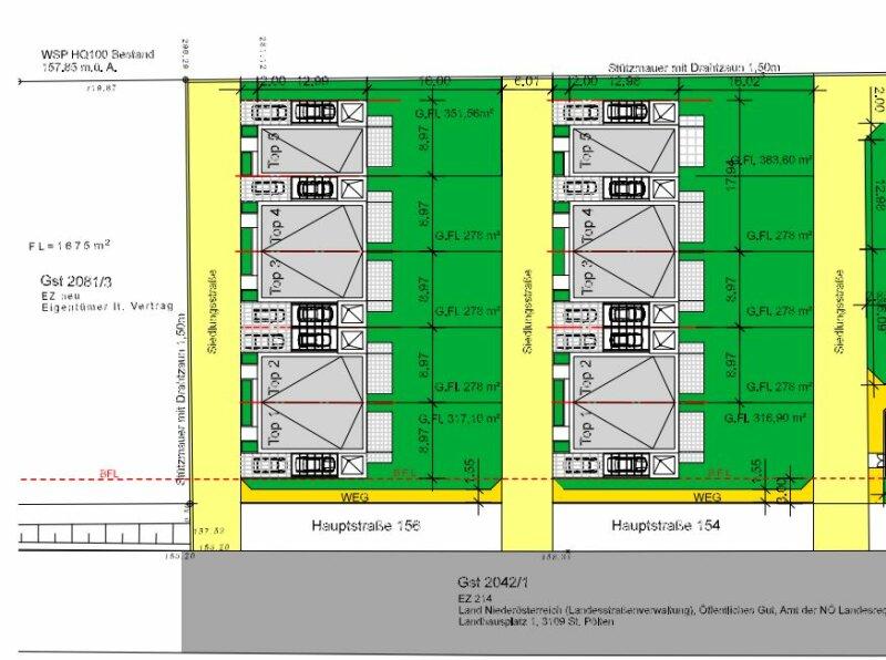 Direkt vom Bauträger- 10 neu errichtete DH-Hälften mit Garten, gelegen in Wilfleinsdorf bei Wien /  / 2462Wilfleinsdorf / Bild 2