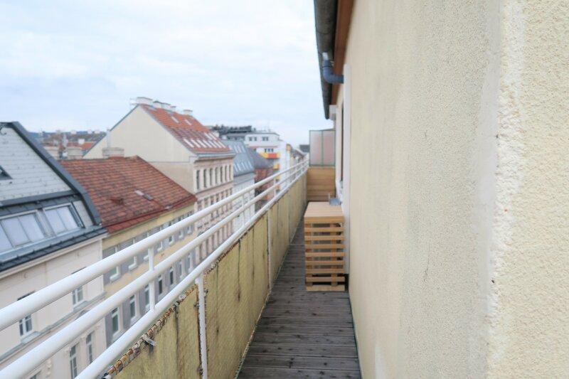 Dachgeschosswohnung mit Rundum Balkon und Blick über Wien /  / 1180Wien / Bild 2
