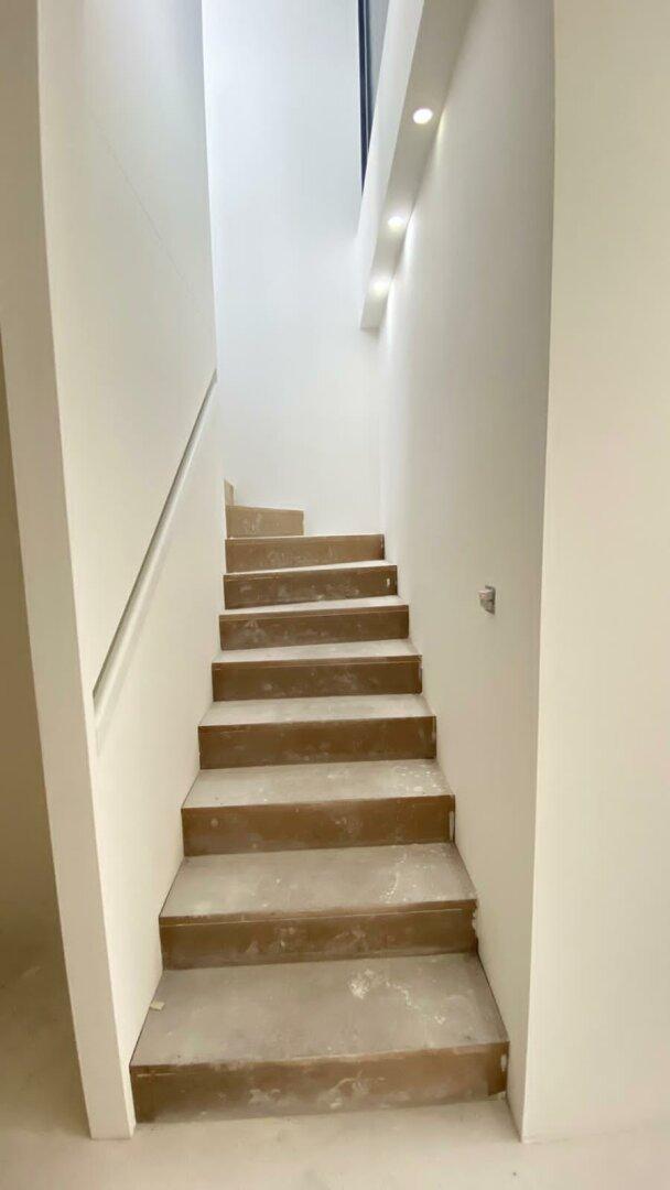Treppenaufgang - Wintergarten Dachterrasse