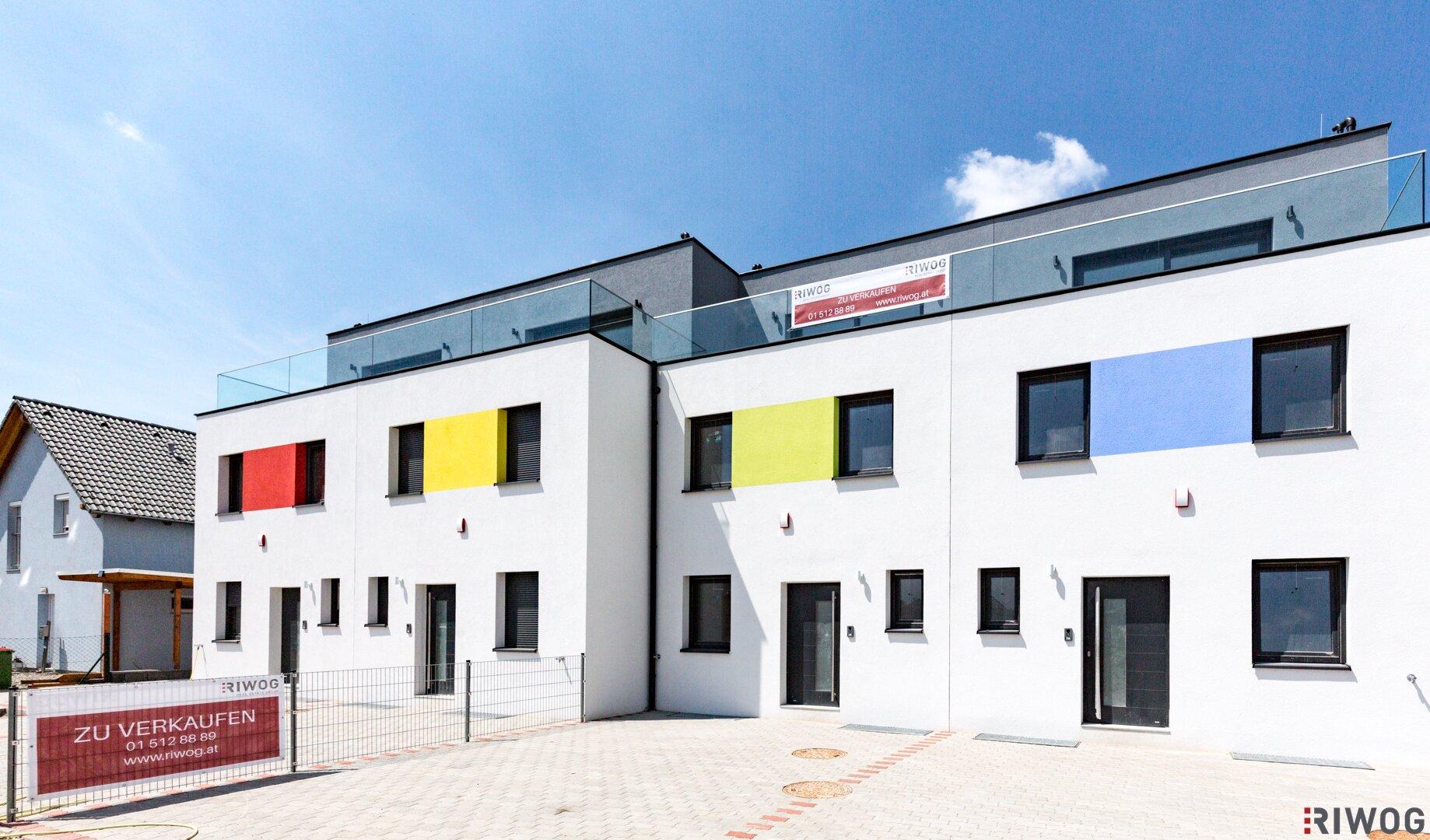 Wohnen in der Auvorstadt - Doppelhausprojekt Graureiher (Projektansicht)