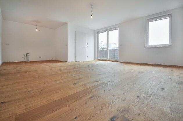 Foto von Hochwertige 3-Zimmer Neubauwohnung samt ostseitigen Balkon!!