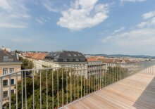 Erstbezug - Appartement mit großer Terrasse und Ausblick auf Wien, U6