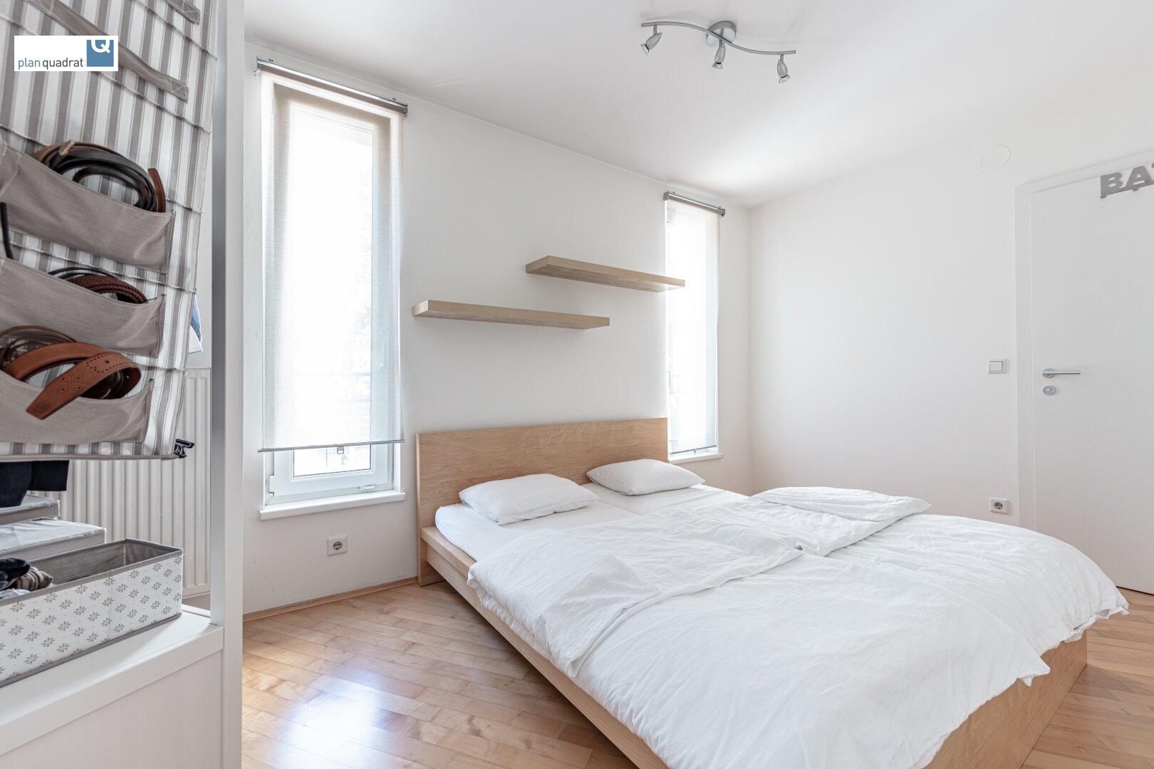 Schlafzimmer (ca. 11,50 m²)