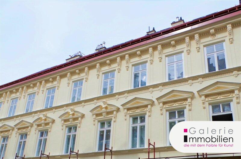 Hochwertige Altbauwohnung mit Balkon in revitalisiertem Biedermeierhaus Nähe Naschmarkt Objekt_33894