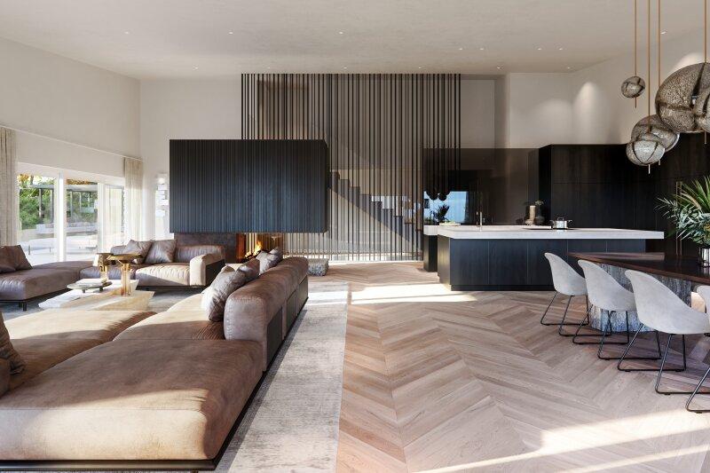 Stilvolles Penthouse mit atemberaubendem Fernblick