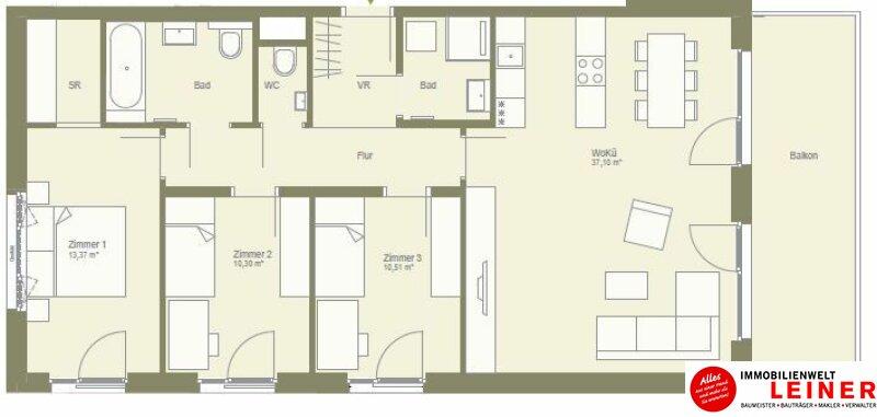 traumhafte Terrasse!! 4 Zimmer in Schwechat  - unbefristeter Mietvertrag! Objekt_9780 Bild_270