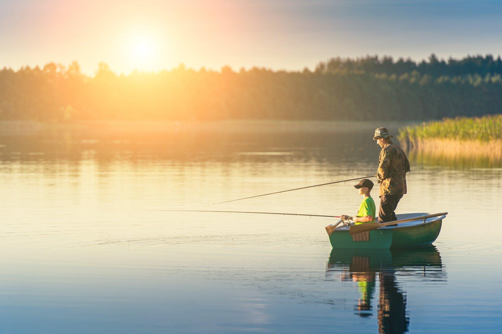 Fischerparadies Völkermarkter Stausee