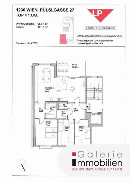 Grünruhelage - Sonnige und helle 4-Zimmer-Neubauwohnung mit großem Balkon - barrierefrei Objekt_31839 Bild_287