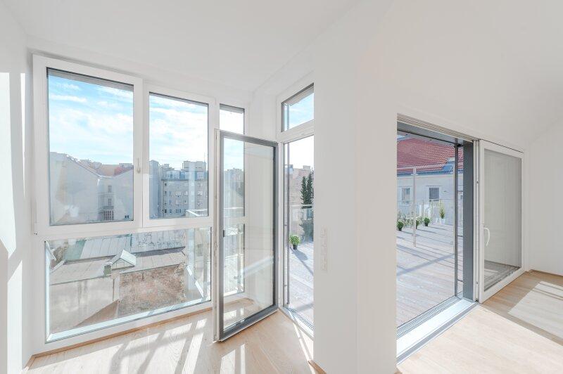 ++RARITÄT** Außergewöhnliche DG-MAISONETTE in TOP-CityLAGE! Altbaucharme + moderne Dachgeschosswohnung! Ruhelage! /  / 1020Wien / Bild 15