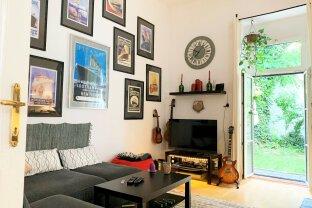 Ruhige 2 Zimmer Wohnung | direkter Ausgang in Gemeinschaftsgarten | sanierungsbedürftig | Kleine Neugasse