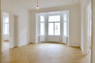 Erstbezug - Gut angelegte 4-Zimmer Wohnung im Stilaltbau - Nähe Karmelitermarkt