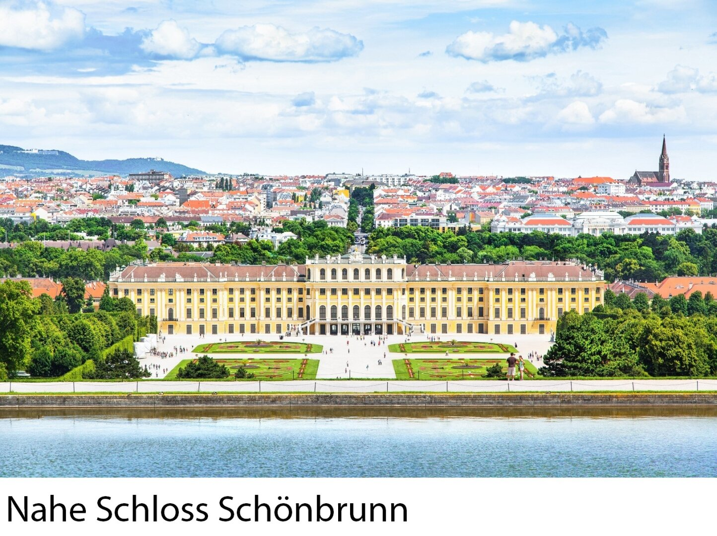 Nahe Schloss Schönbrunn