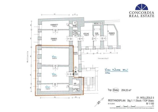 Büro 87 m²
