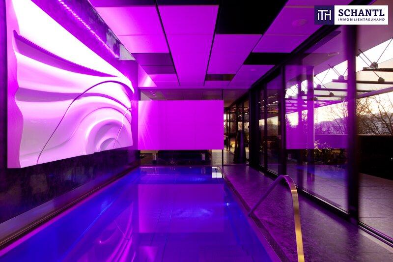 ATEMBERAUBENDES Designer LUXUS-Penthouse mit Panoramablick + Riesige Terrassen + Indoor Pool + Sauna + Kamin + Ruhelage + drei tw. überbreite Tiefgaragenplätze uvm. in Graz!
