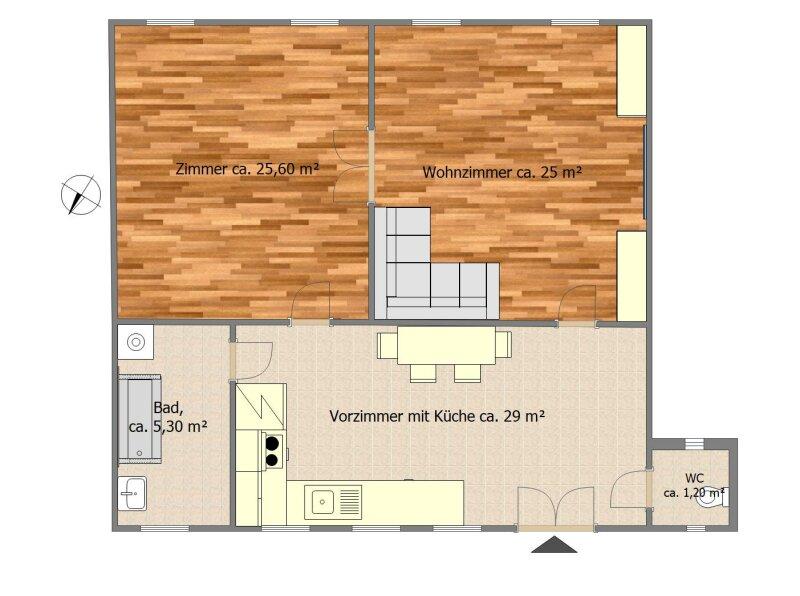 Hübsche 2.5 Zimmer Wohnung im Herzen Wiens /  / 1030Wien / Bild 1
