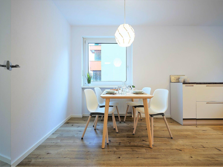 Küche mit ca. 14,40 m²
