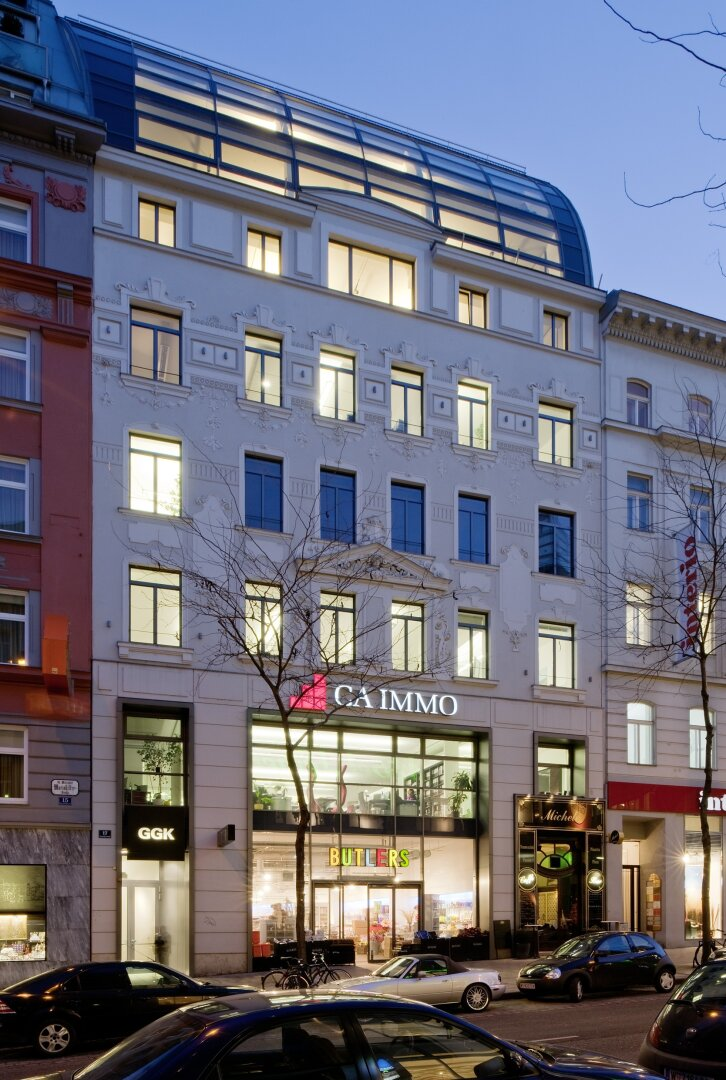 Ihr neues Office auf der der Mariahilfer Straße (Projektansicht)
