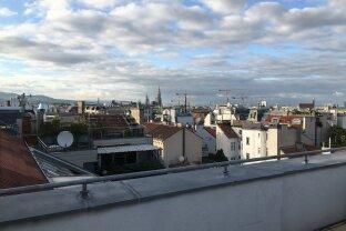 Wunderbar helle 3 Zimmer Dachgeschosswohnung in ruhiger Lage am Spittelberg!