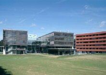 Fachhochschule samt Studentenwohnheim Puch/Urstein