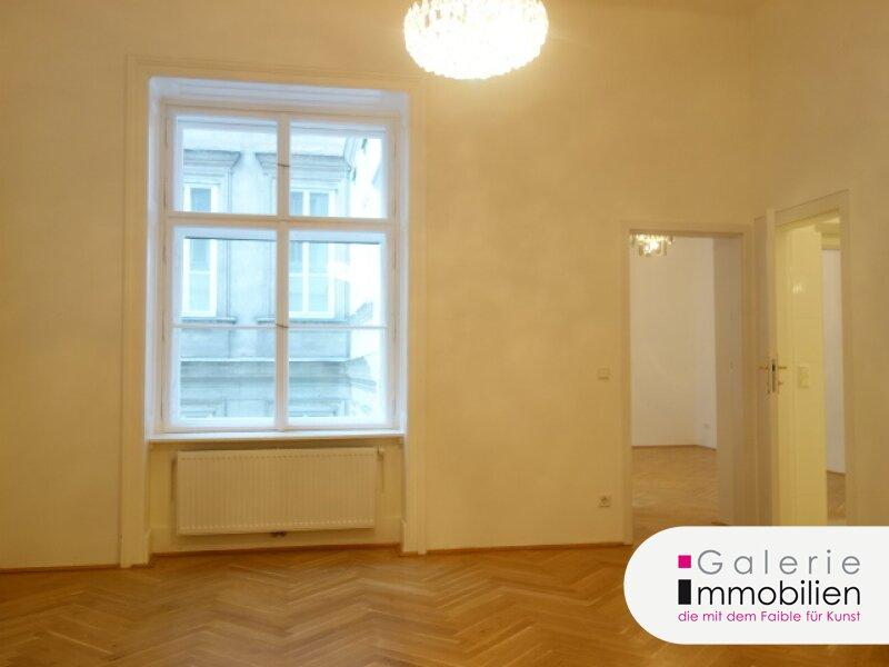 Schöne, hochwertige Altbauwohnung mit 3 Zimmern an der U2/U3 Volkstheater, VIDEO Objekt_26039