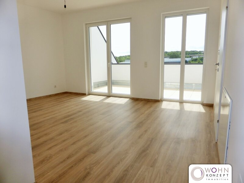 Erstbezug: 63m² Dachwohnung + 10m² Terrasse mit Klimanlage! /  / 1110Wien / Bild 1