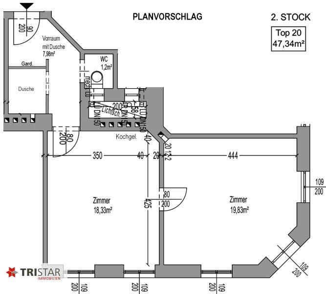NEU! + 2 Zimmer Altbau-Wohnung + 1160 Wien + /  / 1160Wien / Bild 12