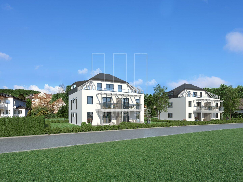 Gesamtansicht Projekt Stadtvillen RUBIN