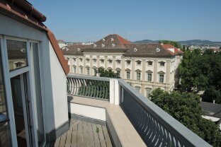 SERVITENVIERTEL   LIECHTENSTEINPARK - Dachterrassenwohnung mit Traumblick in bester Lage