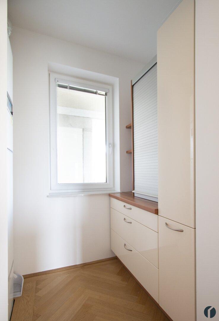 Abstellraum mit weiteren Küchenmöbeln