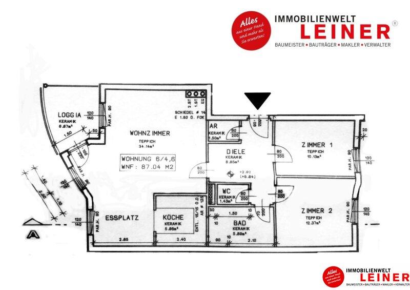 Schwechat - 3 Zimmer Eigentumswohnung direkt gegenüber vom Freibad und Stadtpark ab € 800,- pro Monat Objekt_12021 Bild_134