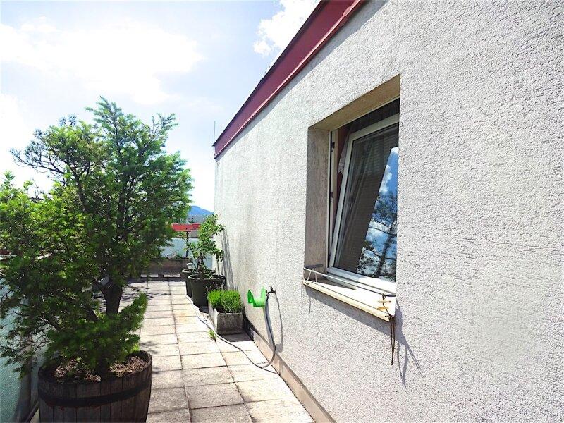 Weitblick: Terrassentraum, 103 m2 Wohnfläche + 74 m2 Terrasse, sonnig, ruhig, U1-Aderklaaerstraße! /  / 1210Wien / Bild 1