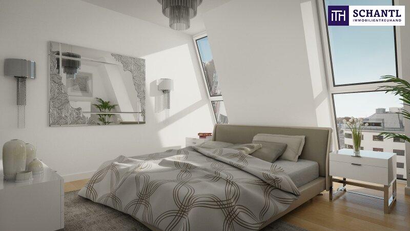 WOW! Traumhafter Blick + Perfekt aufgeteilte Eckwohnung im Dach + Lichtdurchflutet! Wunderschönes Altbauhaus mit starker Architektur! /  / 1090Wien / Bild 3