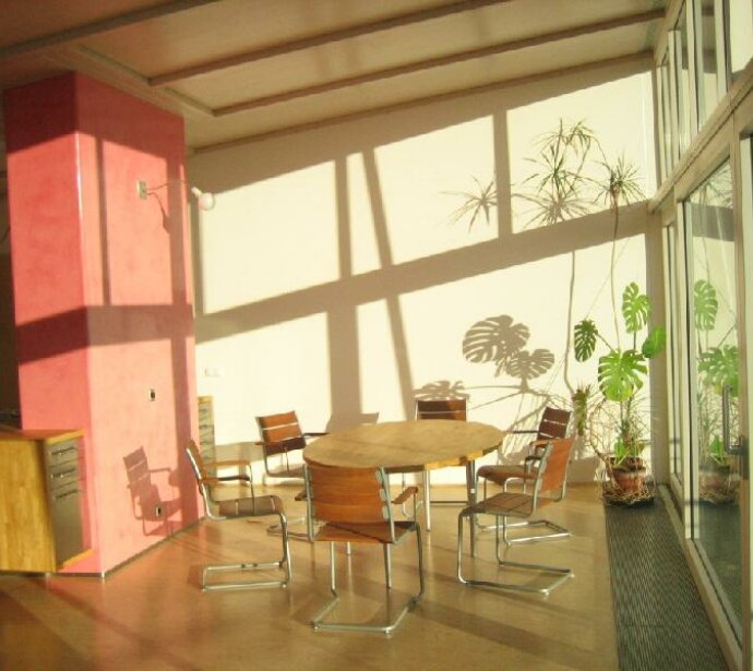 Einzigartiger Architekten - Dachausbau mit Parkblick