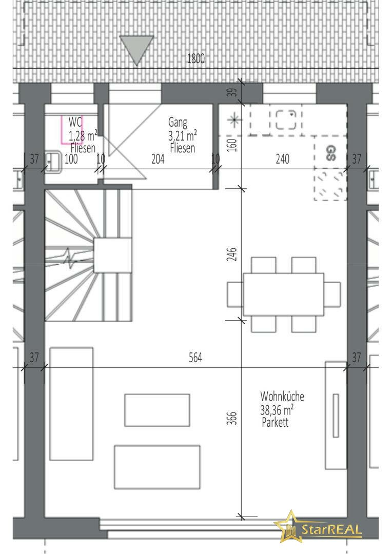 HAUS 2 Erdgeschoss