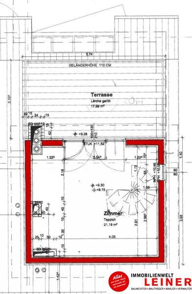 Schwechat - Beeindruckend Wohnen - Maisonette Penthouse Wohnung über den Dächern der Stadt Objekt_8955 Bild_824