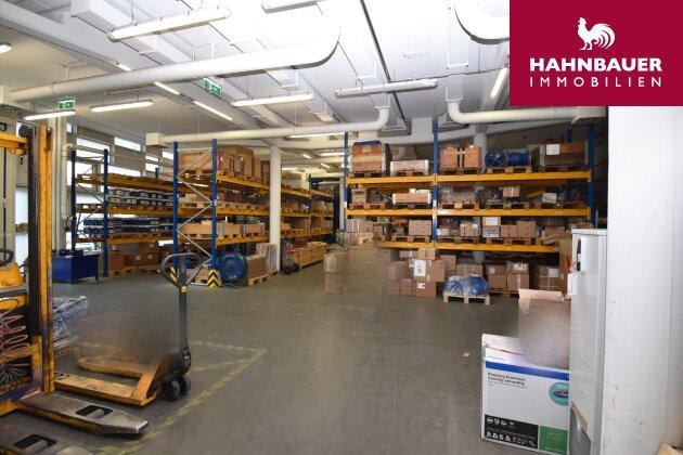 Lagerhalle/Produktion 808 m2 in Kombination mit 303 m2 Büro in 1140 Wien