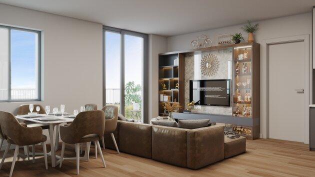 Foto von Perfekt aufgeteilte 4-Zimmer Neubauwohnung