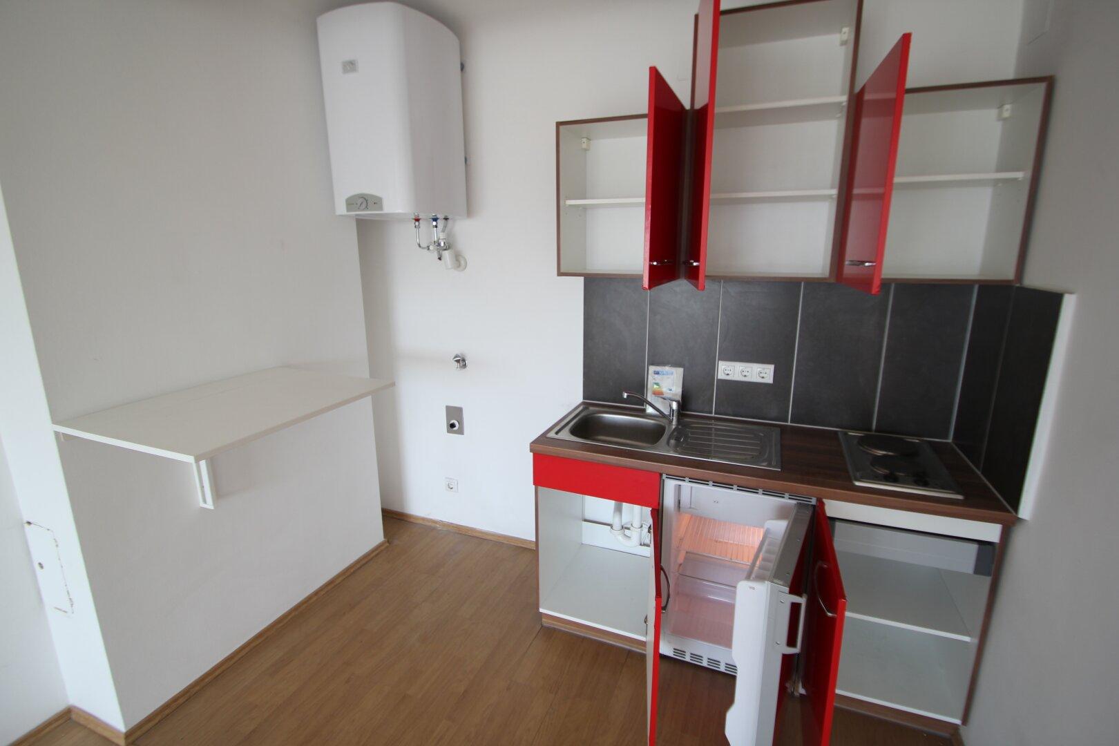 Küchenzeile inkl. Waschmaschinenanschluss