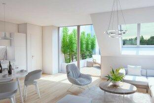 Exquisite DG-Maisonette mit Balkon + Terrasse mitten im Servitenviertel: Altbau + Neubau