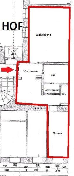 RUHIGE HOFAUSRICHTUNG -  2,5 Zimmer - Lift /  / 1030Wien / Bild 3