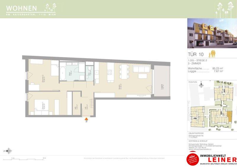 Zuhause fühlen - 3 Zimmer provisionsfreie Eigentumswohnung Objekt_15341 Bild_269