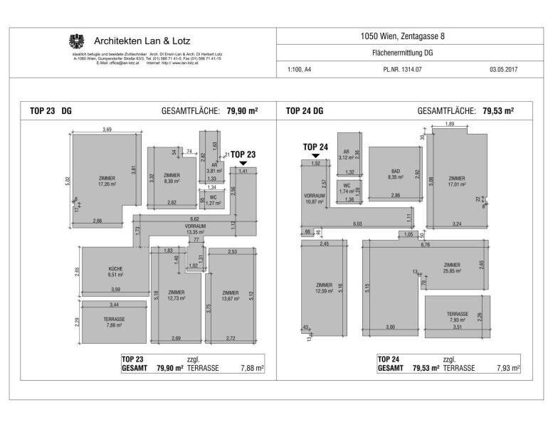 ++NEU** Kernsanierter DG-ERSTBEZUG! 3-Zimmer+getrennte Küche! 7m² uneinsehbare Terrasse! **VIDEOBESICHTIGUNG** PROVISIONSRABATT! /  / 1050Wien / Bild 19