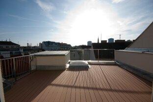 SOMMERHIT: Moderne Dachgeschoß-Maisonettewohnung mit traumhafter Dachterrasse und Blick auf das Riesenrad