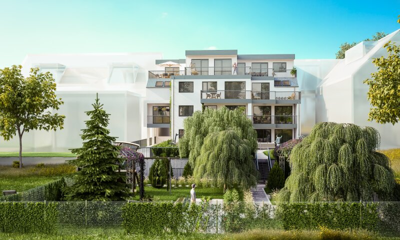 Neuer Luxus zwischen Alter Donau und U1 Kagran: 3-Zimmer-Domizil mit Balkon!
