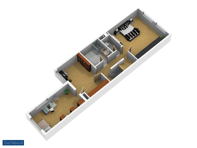 3D-Ansicht 1. Stock