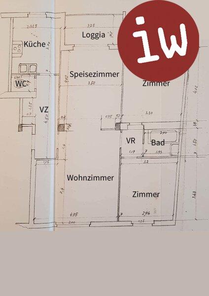 Sonnige Ruhelage: 3 - 4 Zimmer Eigentumswohnung mit Loggia in Top Lage Objekt_633 Bild_114