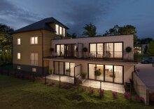 BAUBEGINN ERFOLGT 3-Zimmer Terrassenwohnung mit Reihenhausfeeling