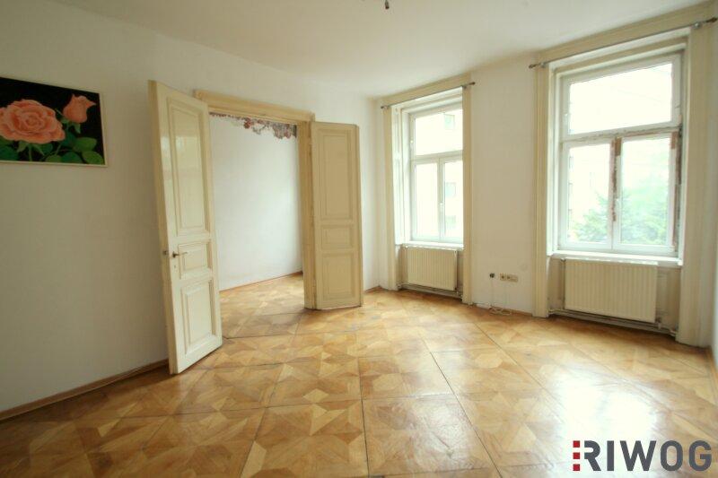 ++ 2 Zimmer bei WIEN MITTE ++ Wohnen mitten im Dritten ++ sanierungsbedürftige Altbauwohnung in absoluter Toplage /  / 1030Wien / Bild 2