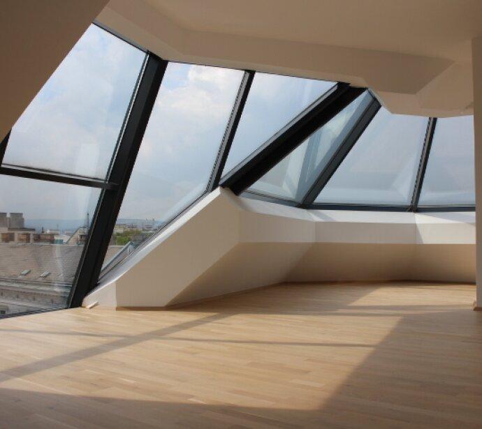 Stylische Dachterrassenwohnung mit Fernblick