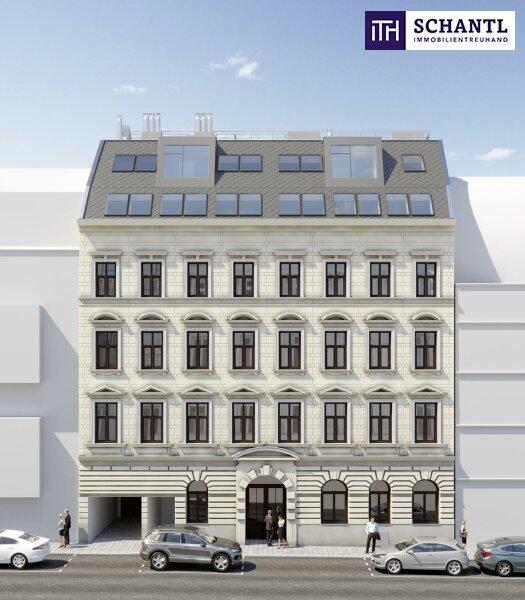 Halb 7 - Zeit zum Einziehen! Perfekt aufgeteilter Dachgeschoss-Traum mit 3 Terrassen! Wunderschönes Altbauhaus + Ruhelage! /  / 1070Wien / Bild 4